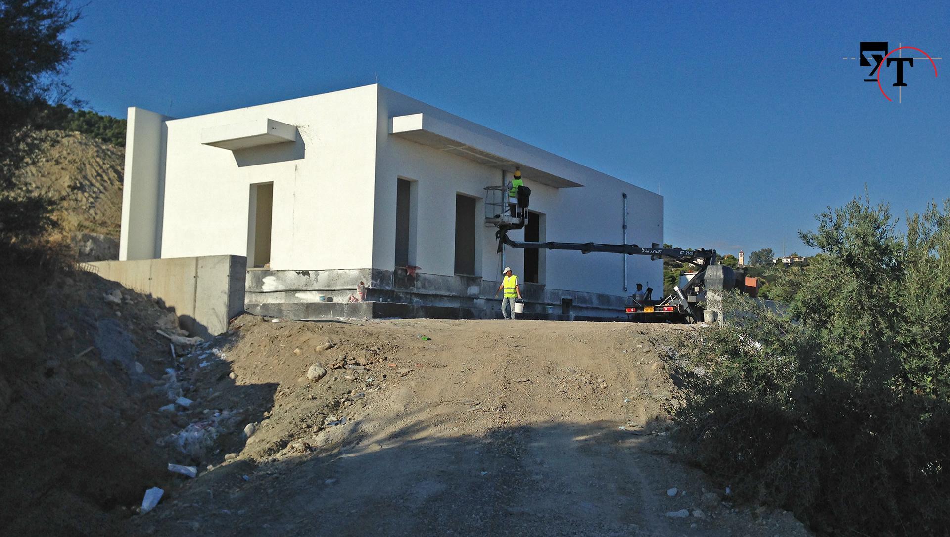 Κτίρια υποστήριξης σηράγγων - Τεχνικά γραφεία Αχαΐα