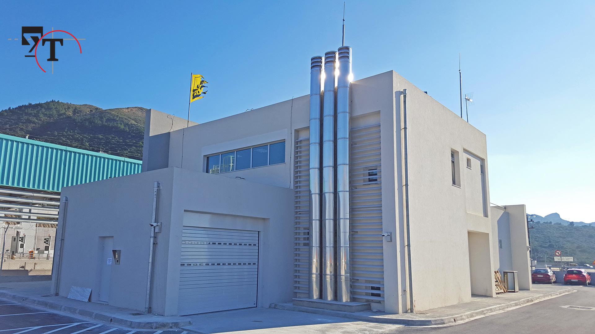 Κτίριο υποστήριξης σταθμού διοδίων - Τεχνικά γραφεία Αχαΐα