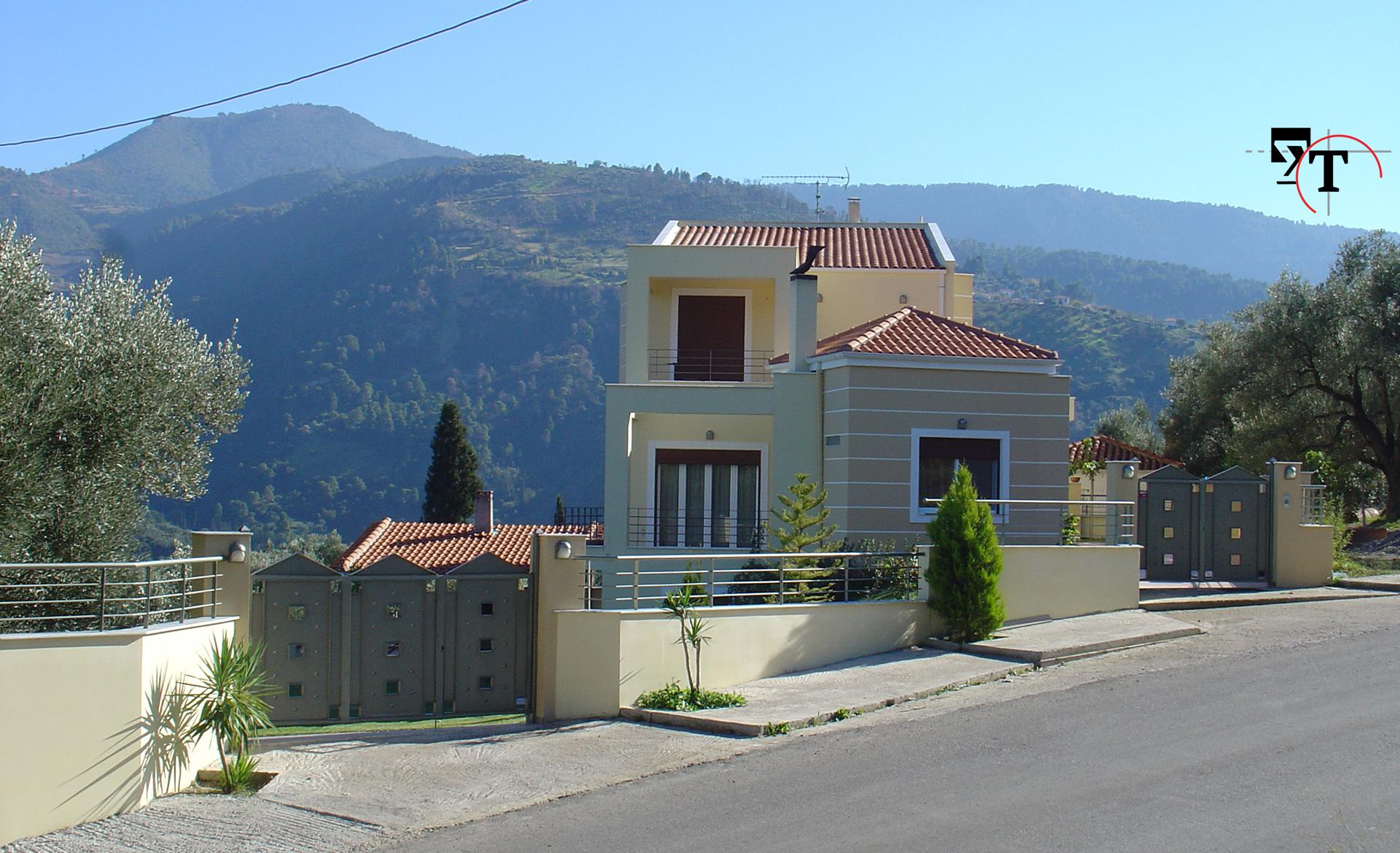 Διώροφη κατοικία -Τεχνικά γραφεία Αχαΐα