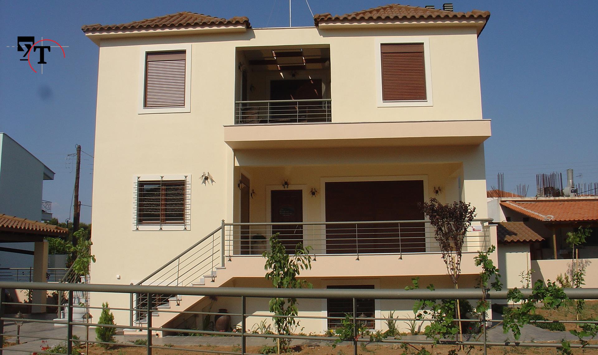 Διώροφη κατοικία με υπόγειο -Τεχνικά γραφεία Αχαΐα