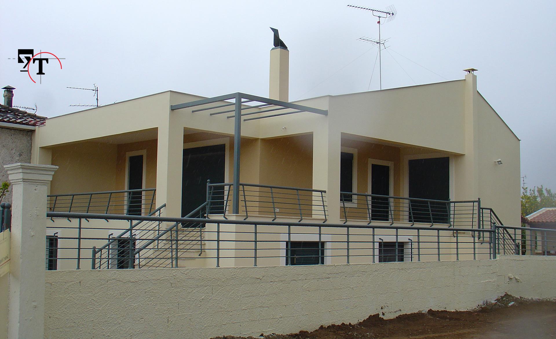 Ισόγειος οικία με υπόγειο - Τεχνικά γραφεία Αχαΐα
