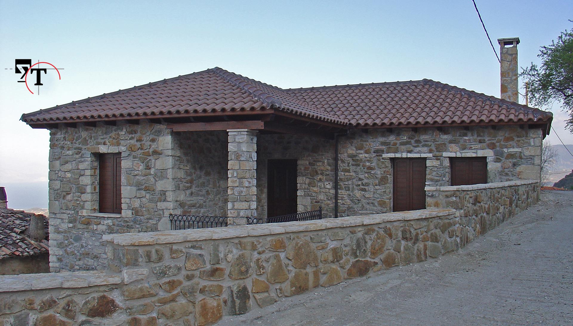 Ισόγειος οικία με υπόγειο -Τεχνικά γραφεία Αχαΐα