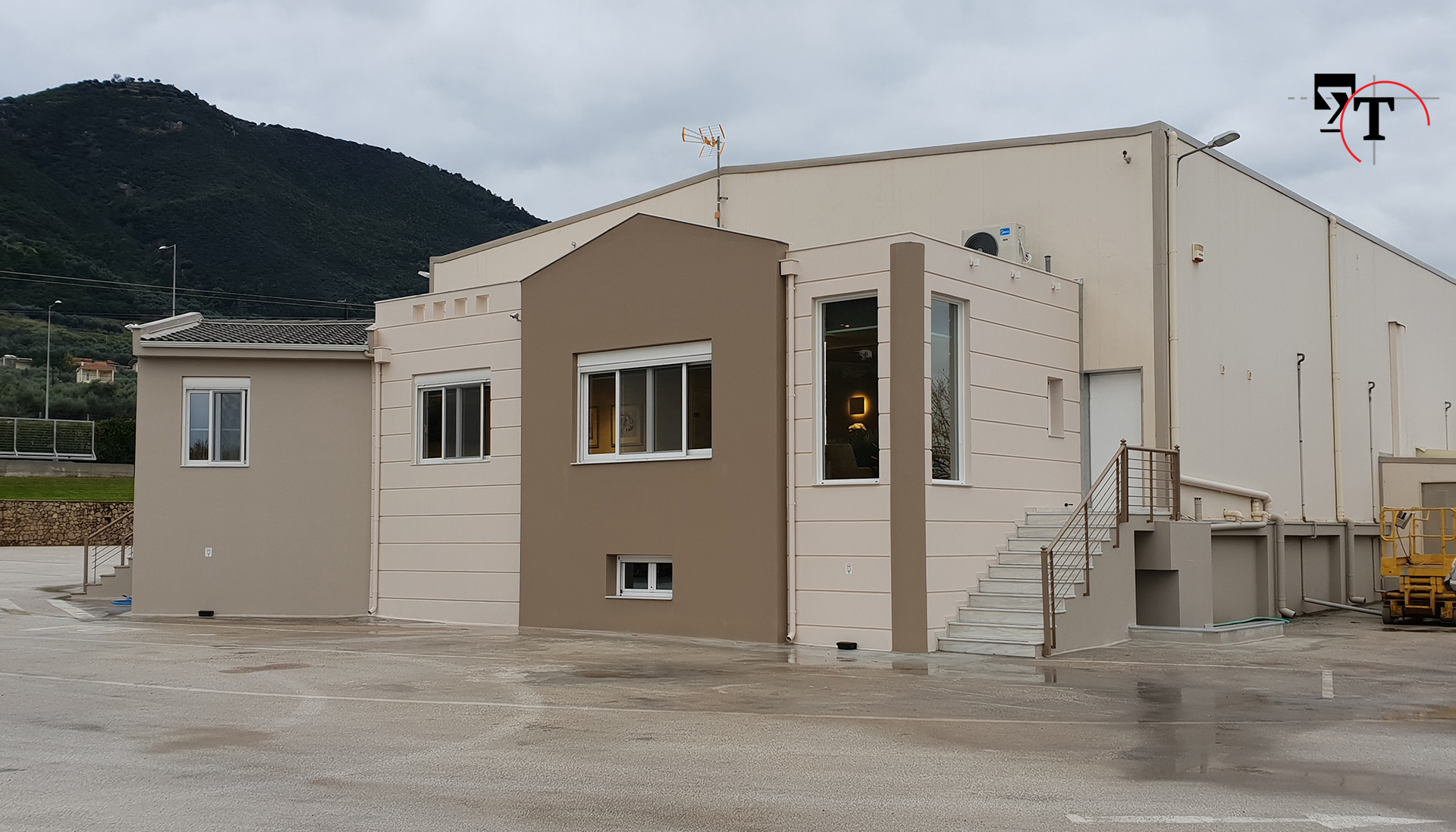 Ισόγειο βιομηχανικό κτίριο - Τεχνικά γραφεία Αχαΐα